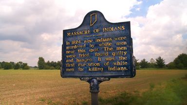 Marker for the Massacre